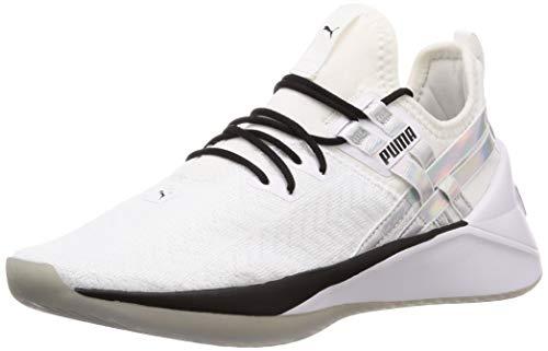 Puma Damen Jaab XT Iridescent TZ WN's Fitnessschuhe Weiß White Black, 37 EU