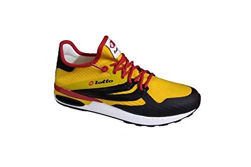 Lotto Leggenda Scarpe 211147 1YE Run Light Running Uomo Speed Giallo Nero