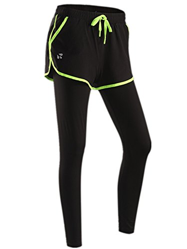 YeeHoo Frauen Knöchel Running Leggings Trainingshose für Gym Workout Yoga Hosen (Trainingshose Personalisierte)