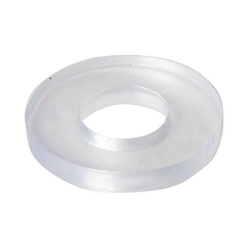 sourcingmap® 30Stk 19 x 9 x 2,5mm Klare Gummi Dichtungen Wasser Rohr Dichtung (Wasser Rohr Gummi)