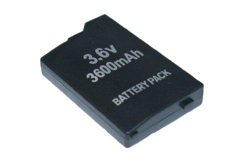 Akku 3600MAH Battery Pack für PSP Classic FAT 1000 & 1004 (NEU) - PSP (Sony Psp Neu)