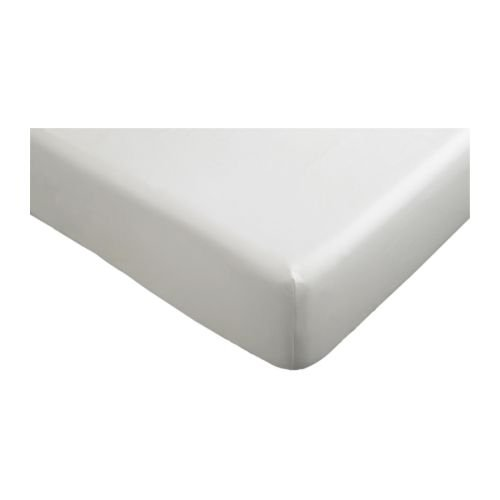 IKEA Knoppa Spannbettlacken 90x200cm weiß
