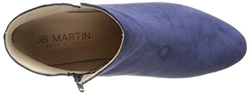 Jb Martin 2tahis, Bottines Classiques Femme Bleu (Crosta Silky/For Resille Ocean)