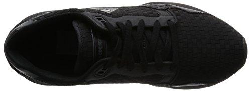 Le Coq Sportif Lcs R900 Woven, Baskets Basses Homme Noir (Black/Black)