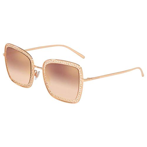 Ray-Ban Damen 0DG2225 Sonnenbrille, Pink Gold, 52.0