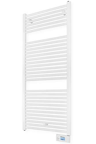 Orbegozo THA 465 - Toallero eléctrico digital con fluido térmico, 750 W, IP 24, programable, pantalla...