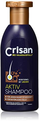 Crisan Aktiv Shampoo - Arginin-Haarausfall-System - 250 ml