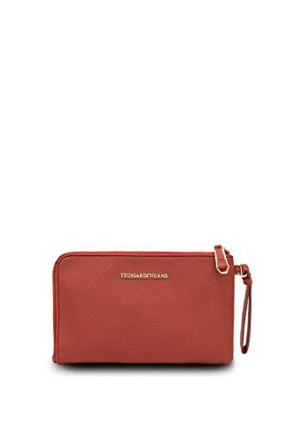 Trussardi Jeans by Trussardi, Pochette pour femme rouge rouge