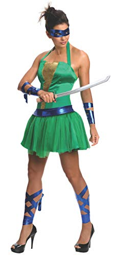 Kostüm Leonardo Ninja Turtles Frauen (Ninja Frauen, Turtle Kostüm)