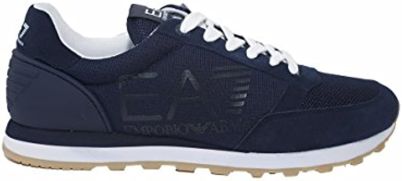 EA Scarpe EA7 Emporio Armani 7 248048 248048 248048 Unisex Blu scarpe da ginnastica Logo Running Sport - Taglia IT 45 1 3 - US 11 | Prima i consumatori  | Uomo/Donne Scarpa  6b7a09