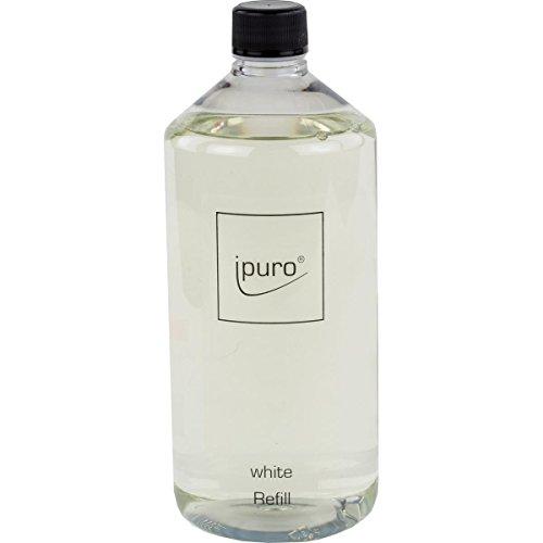 iPURO Luxus Line white 1000ml Nachfüllflasche inkl. Original Duftstäbchen -