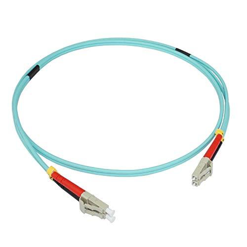 ConnectNET 25 m LWL Patchkabel OM3 Multimode LC/LC Duplex Jumper Netzwerkkabel 50/125µm 10 Gigabit/s -