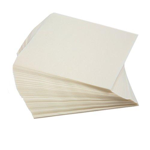 Norpro Wachspapier, Quadrate, weiß, 250Stück
