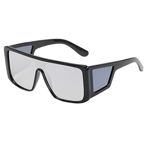 iCerber sonnenbrillen Elegant Niedlichen Charmant Mode Mann Frauen unregelmäßige Form Sonnenbrille Brille Vintage Retro Style UV 400 ❀❀2019 Neu❀❀(SMehrfarbig)