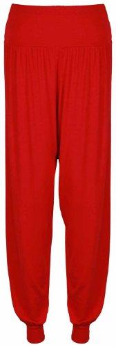 Womens New Long Hareem Baggy Ladies Harem Trousers Elasticated Waistband Stretch Full Leggings Pants