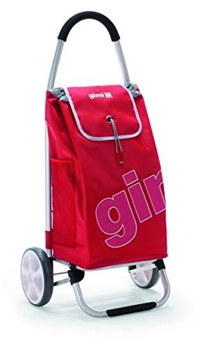 Gimi Galaxy Rot Einkaufstrolley, Rot