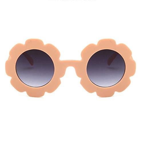 JMT-0825 100% Uv-Schutz Flexible Baby-Sonnenbrille Fashion Flash/Mirrored Sunglasses Orange Pink