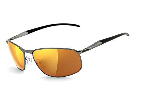 Preisvergleich Produktbild Helly Bikereyes Bikerbrille Sonnenbrille 620g-agv laser gold