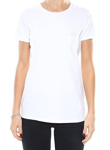Liu-jo T66012J7836 T-shirt Donna Bianco L