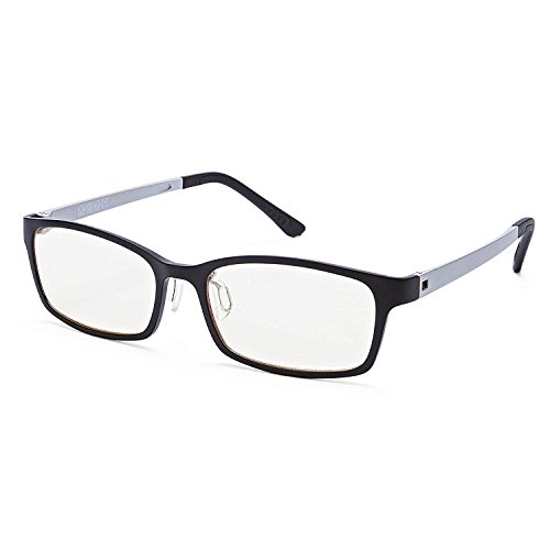 Babimax Schutzbrille Strahlenschutz Lesebrille aus Kunststoff Brille gegen Augenmüdigkeit, Kopfschmerzen, Anstrengung der Augen gegen UV-Strahlung blaue Licht klare Sicht Lesen Computer Lesehilfe
