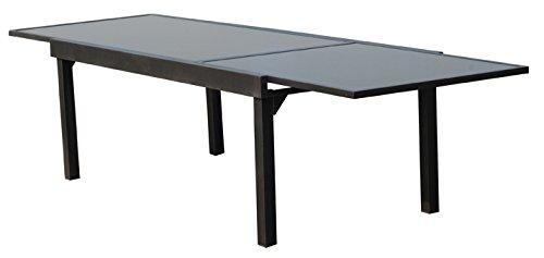 SunRise Table de Jardin Aluminium Vegas: Amazon.fr: Jardin