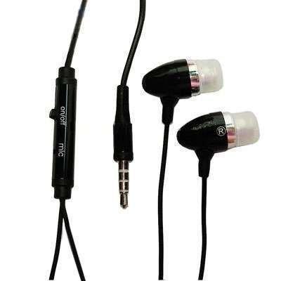 Hörer Stereo Jack 3,5mm Typ Kopfhöhrer mit Mikrofon