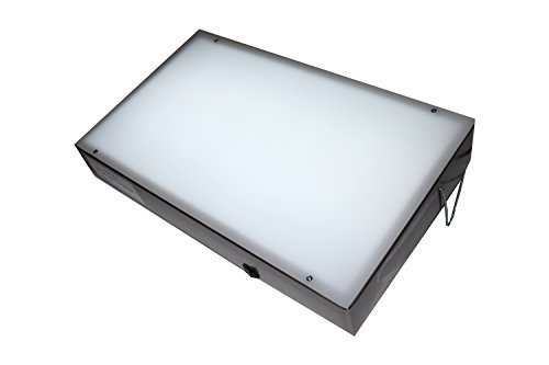 Porta-trace 1 Porta Trace 11118-2L 11X18-inches Stainless Steel Frame Lightbox with LED last up to 50,000 hours by Porta-Trace Gagne Porta-trace Led