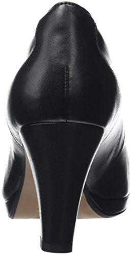 Clarks Damen Chorus Chic Pumps Schwarz (Black Leather)