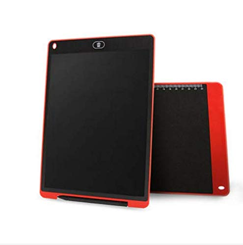 PANGUN 12 inch LCD-Update Multi-Funktion Schreiben Tablet 3 In 1 Mouse Pad Lineal Zeichnung Tablet Handschrift Pads-Rot