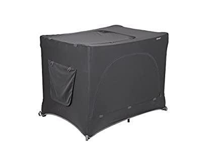 LittleLife Unisex's Travel Cot Blackout Baby, Black, One Size