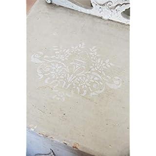 Jeanne d'Arc Living Vintage Stencil Flower Shabby Chic Schablone Wiederverwendbar