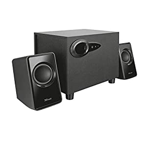 Trust 20442 Avora 2.1 PC Speakers with Subwoofer for Computer and Laptop, USB Powered, 18 W