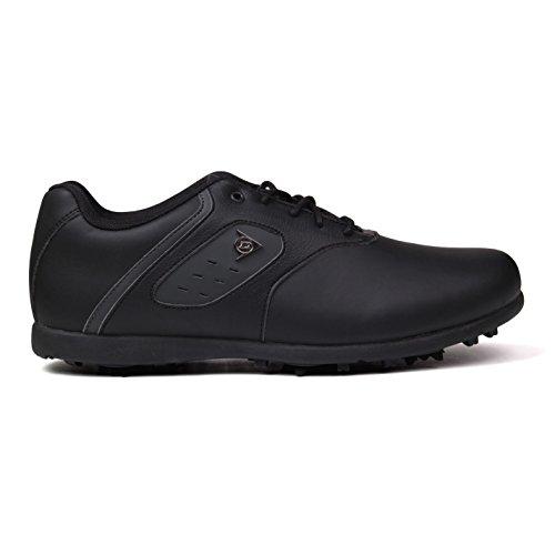 Dunlop , Chaussures de golf pour homme - Noir - Noir, 42.5