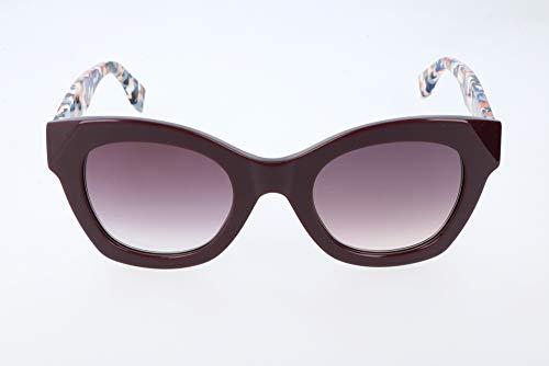Fendi ff 0204/s j8 occhiali da sole, viola (plum multic/mauve sf), 48 donna