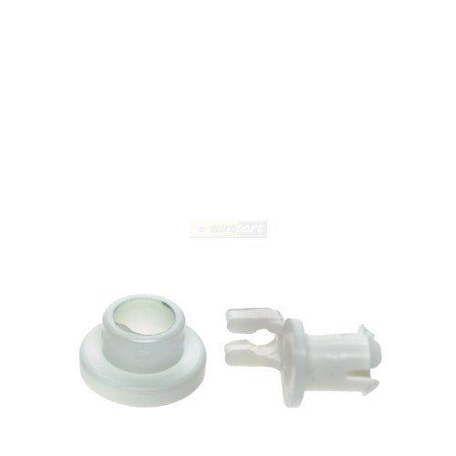 2x daniplus© cesto rotolo per lavastoviglie cestello superiore, 2pezzi di ricambio per siemens bosch 00424717/424717