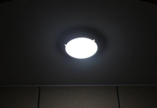 Plafoniera Per Esterno Con Sensore : Zeyun plafoniera a soffitto parete con sensore microonde w