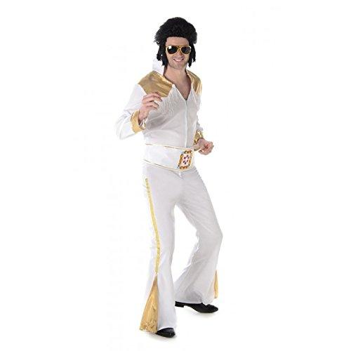 Karnival Costumes 82039–Costume da Elvis Presley Viva Las Vegas per uomo vita L