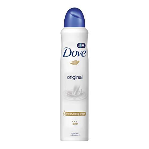 Dove deodorante original, pacco da 6 x 200 ml