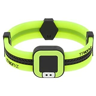 Trion Z Mens Acti-Loop Magnetic Golf Bracelet in Large Black & Lime