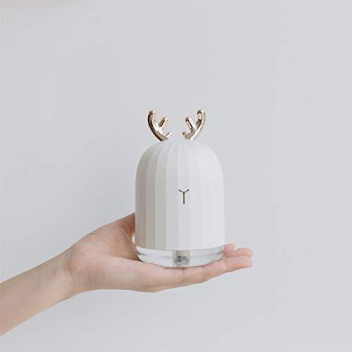 Diffuseur d'huiles essentielles de diffuseur d'huiles essentielles d'humidificateur d'air de lavande Air atomiseur avec veilleuse à LED - Cerf