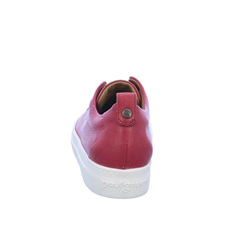 Paul Green 4554-06/062, Sneaker Donna Rot