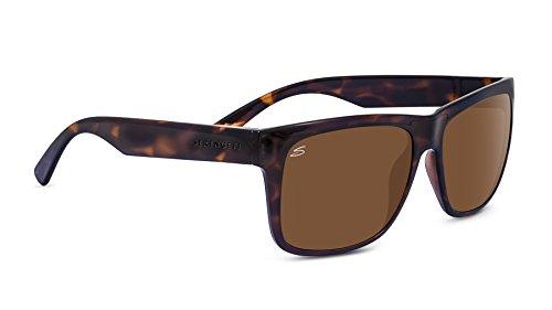 Serengeti positano occhiali da sole, lente: polarized drivers, marrone