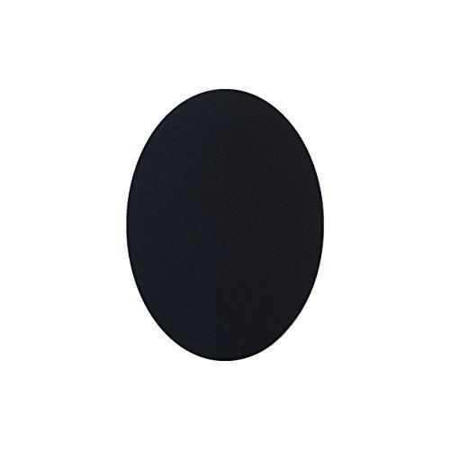 6 Knieschützer für Kinder schwarz zum Aufbügeln 1. Knieschützer Schutz Hose