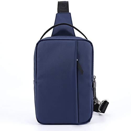 ZLZL Square 9-Zoll-Tablet-Tasche MäNner UmhäNgetasche Oxford Tuch Sport Messenger Bag MäNner Brusttasche AußEntaschen Zum Wandern -
