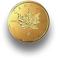 MapleGram TM Goldmünze 1g Maple Leaf Gold Royal Canadian Mint