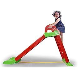 Jamara - 460501 - Toboggan Funny Slide - Antidérapant - pour des paysages Doux - Larges marches et poignées de sécurité