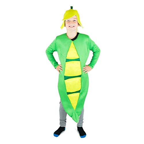 Bodysocks Peapod Fancy Dress Costume (Kids)