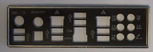 ASUS P6T Deluxe V2 Blende - Slotblech - IO Shield
