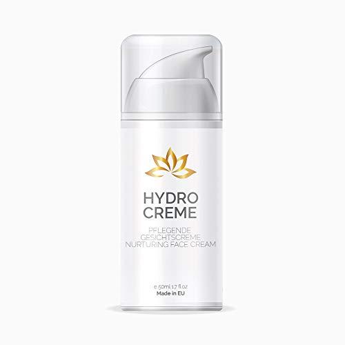 Hydro Creme - Anti Aging Creme für Frauen und Männer | Feuchtigkeitscreme - Tagescreme - Gesichtspflege