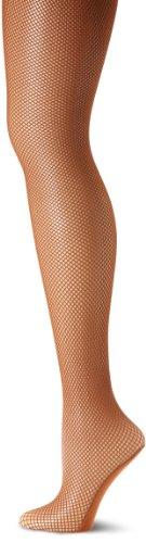 Capezio Damen Professional Fishnet Seamless Tight Strumpfhose, toffee, X-Large